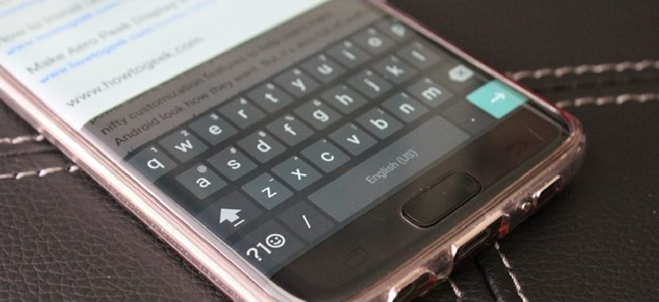 So ändern Sie Sounds und Vibrationen auf der Google-Tastatur für Android