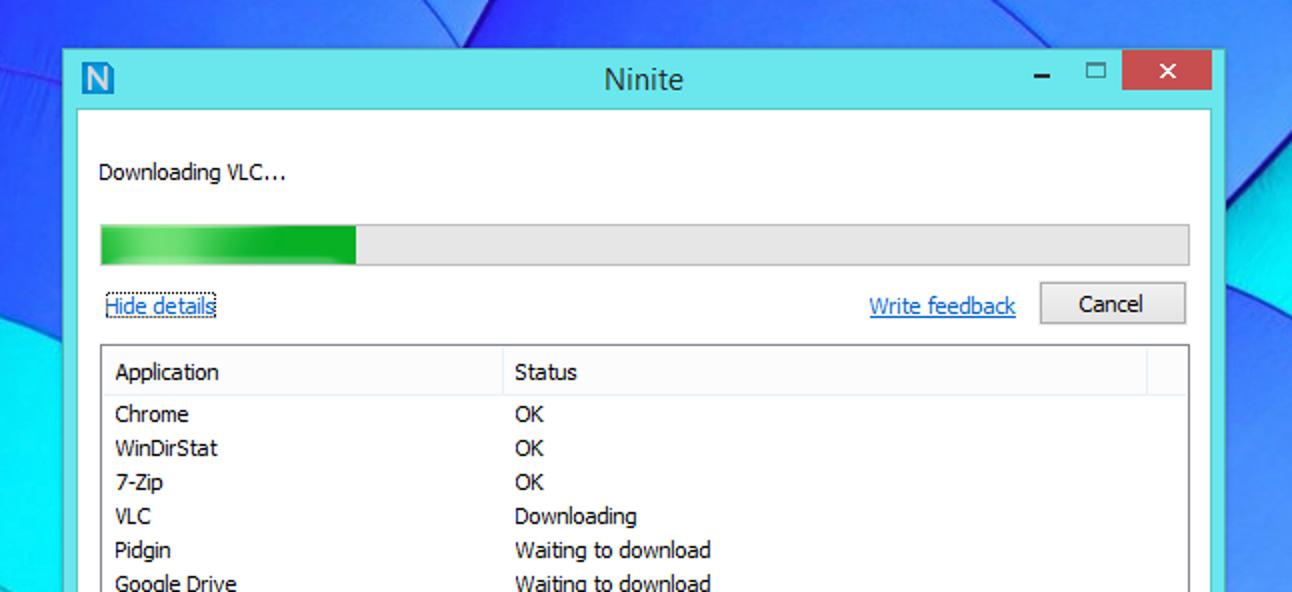 Ninite ist der einzige sichere Ort, um Windows Freeware zu erhalten