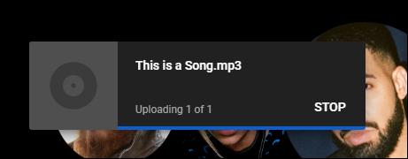 Hochladen von YouTube-Musik