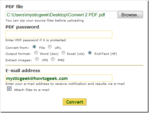 Kostenloser PDF Converter