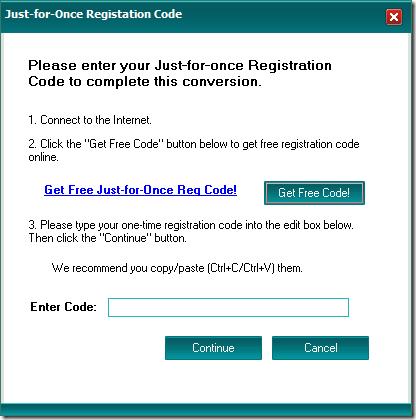 Registrierungscode