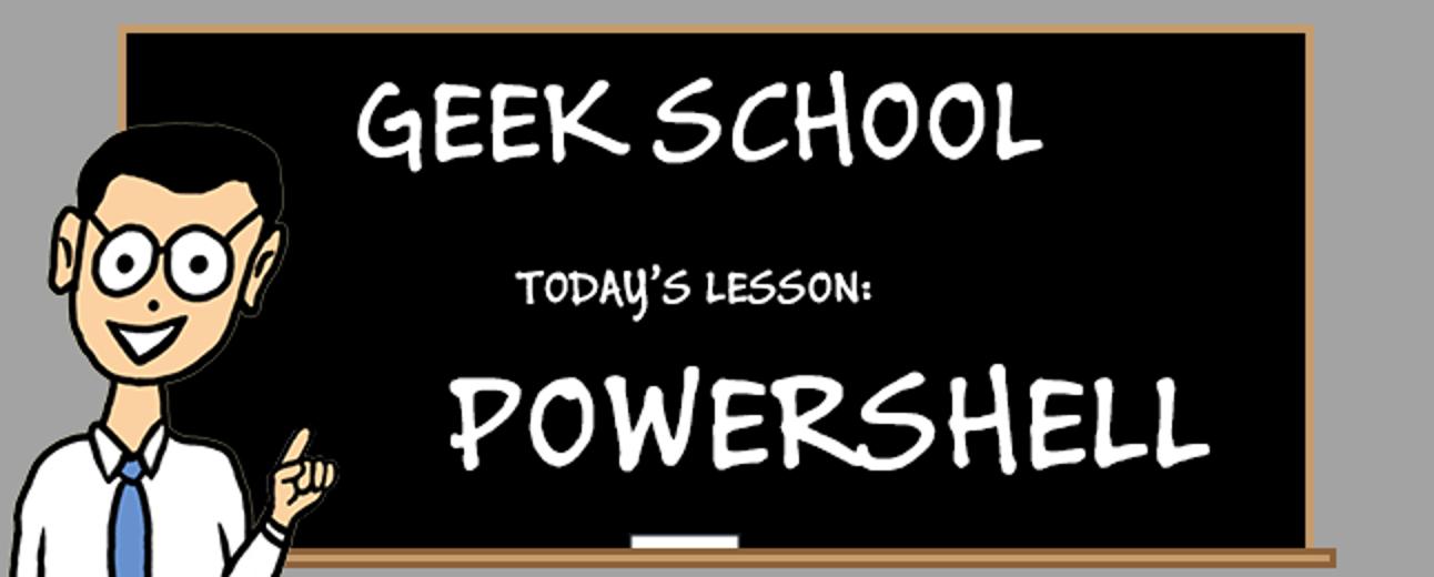 Lernen von PowerShell-Variablen, Eingabe und Ausgabe