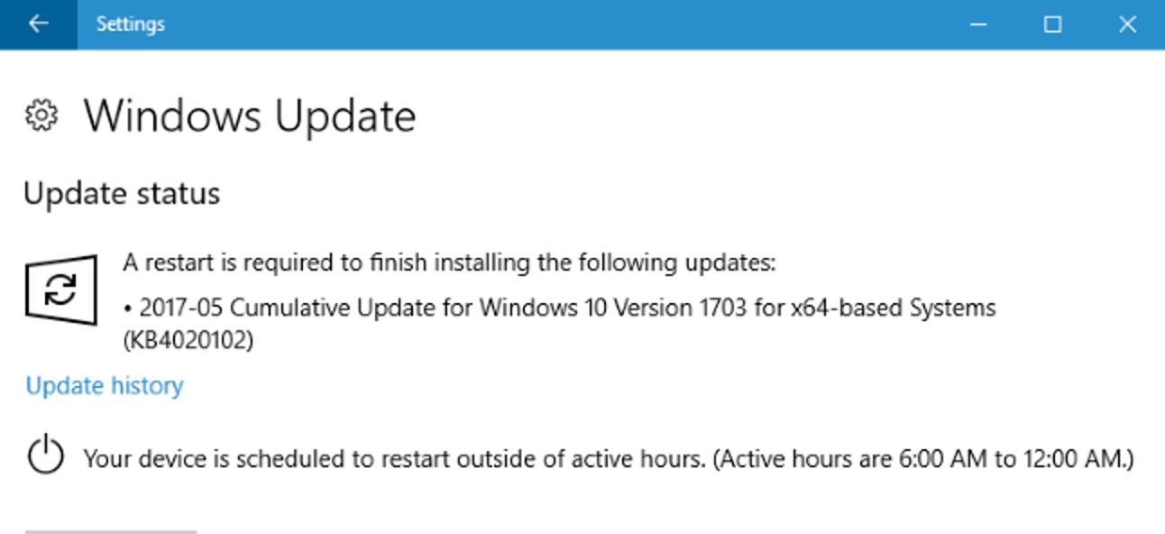 """So stellen Sie """"Aktive Stunden"""" ein, damit Windows 10 nicht zu einem schlechten Zeitpunkt neu gestartet wird"""