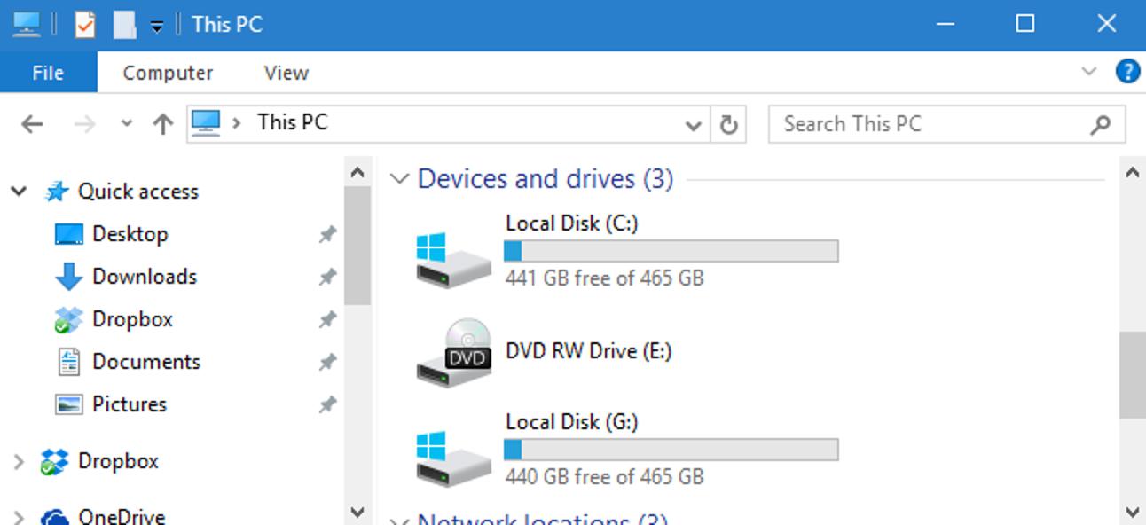 Was tun, wenn Windows zwei verschiedene Laufwerksbuchstaben für dieselbe Festplatte anzeigt?