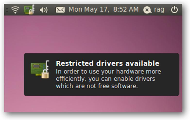 So fügen Sie Ubuntu 10.04 proprietäre Treiber hinzu