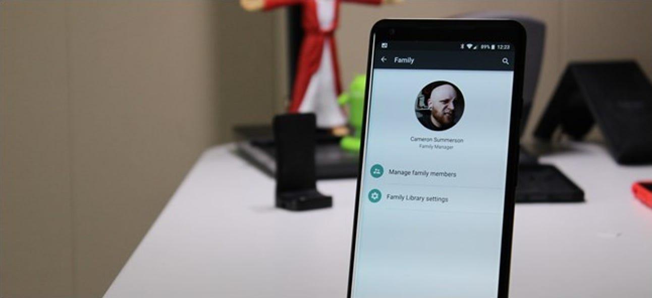So richten Sie die Google-Familie für die Freigabe Ihrer Google-Dienste ein