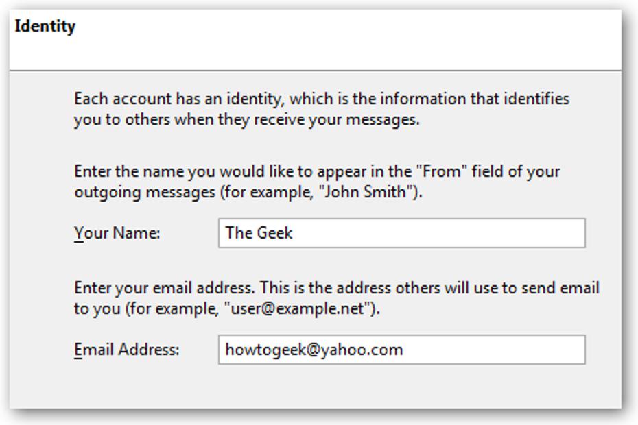 Holen Sie sich Ihr Yahoo!  Mailen Sie in Mozilla Thunderbird kostenlos