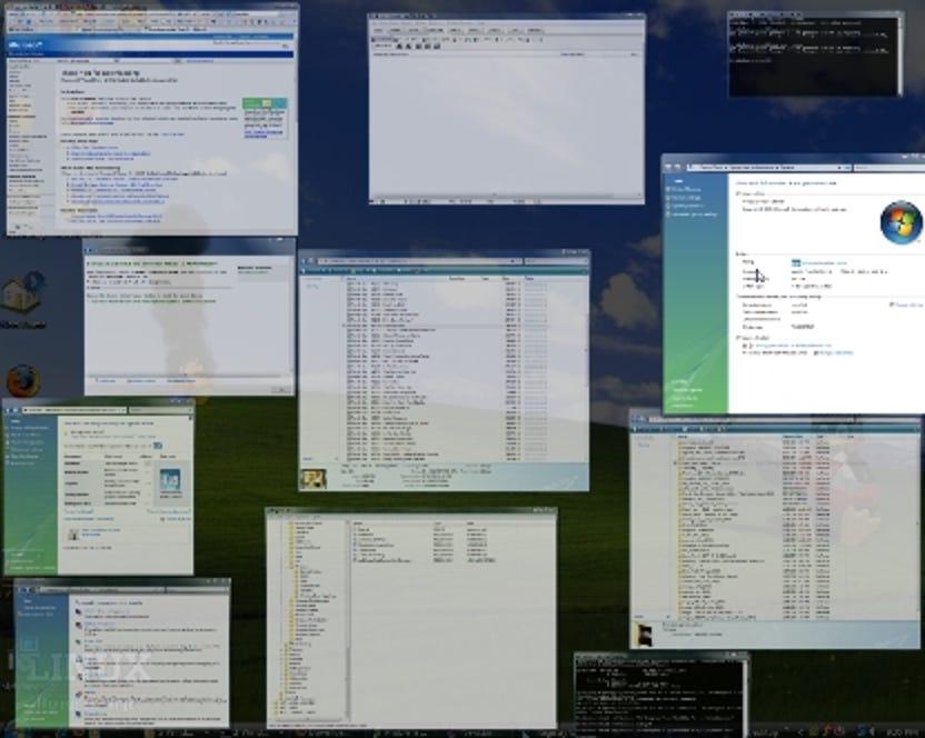 Mac OSX Expose Clone für Windows Vista