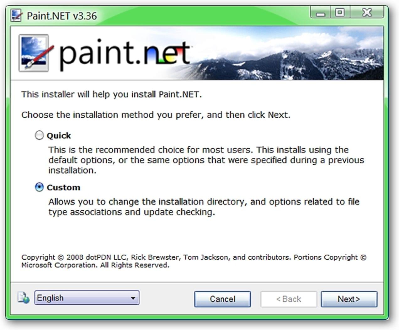 Paint.NET ist eine hochwertige Fotobearbeitungs-App für Windows