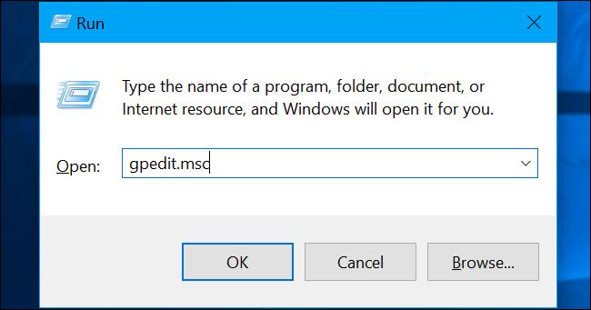 Drücken Sie Windows + R, geben Sie