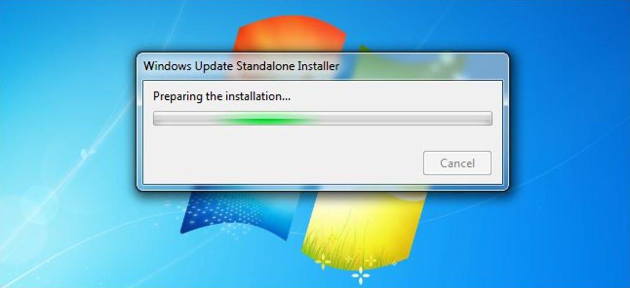 So aktualisieren Sie Windows 7 auf einmal mit dem Convenience Rollup von Microsoft