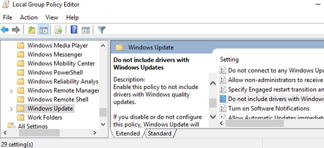 So verhindern Sie, dass Windows 10 Hardwaretreiber automatisch aktualisiert
