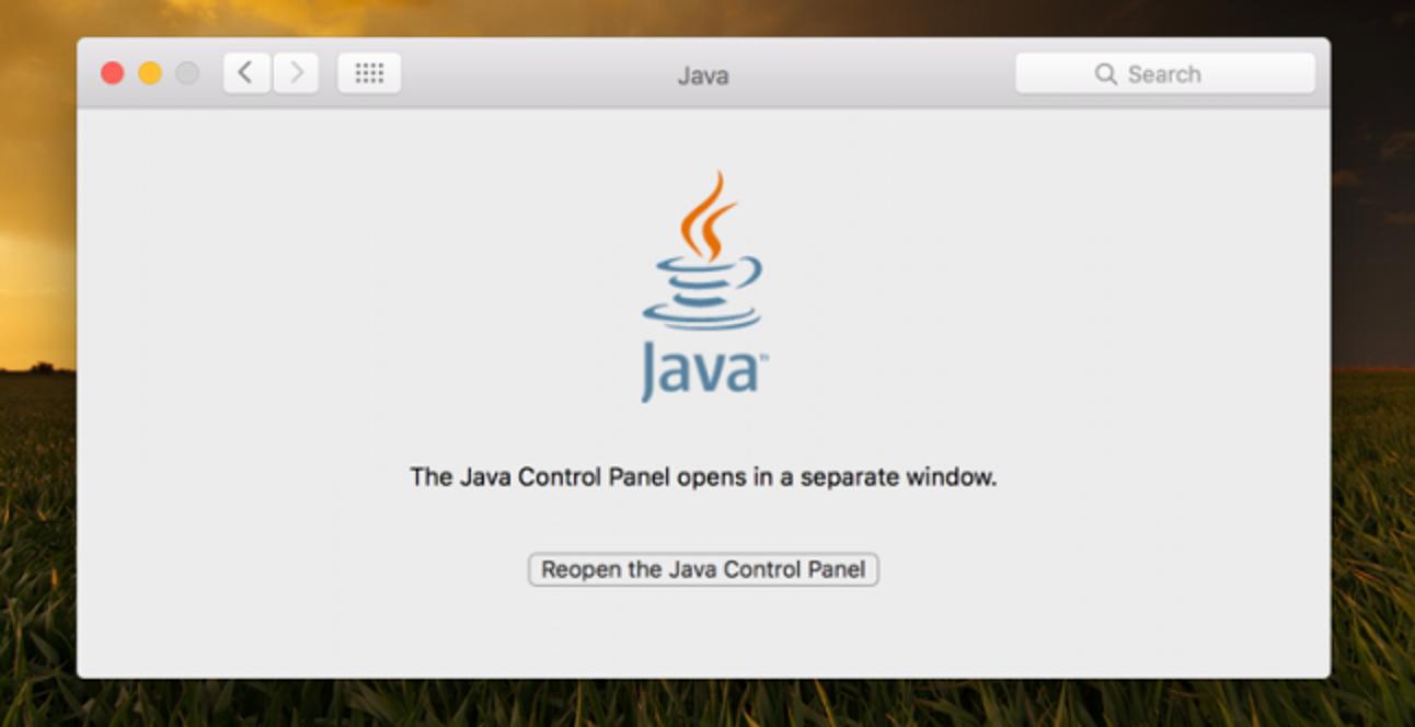 So deinstallieren Sie Java unter Mac OS X.