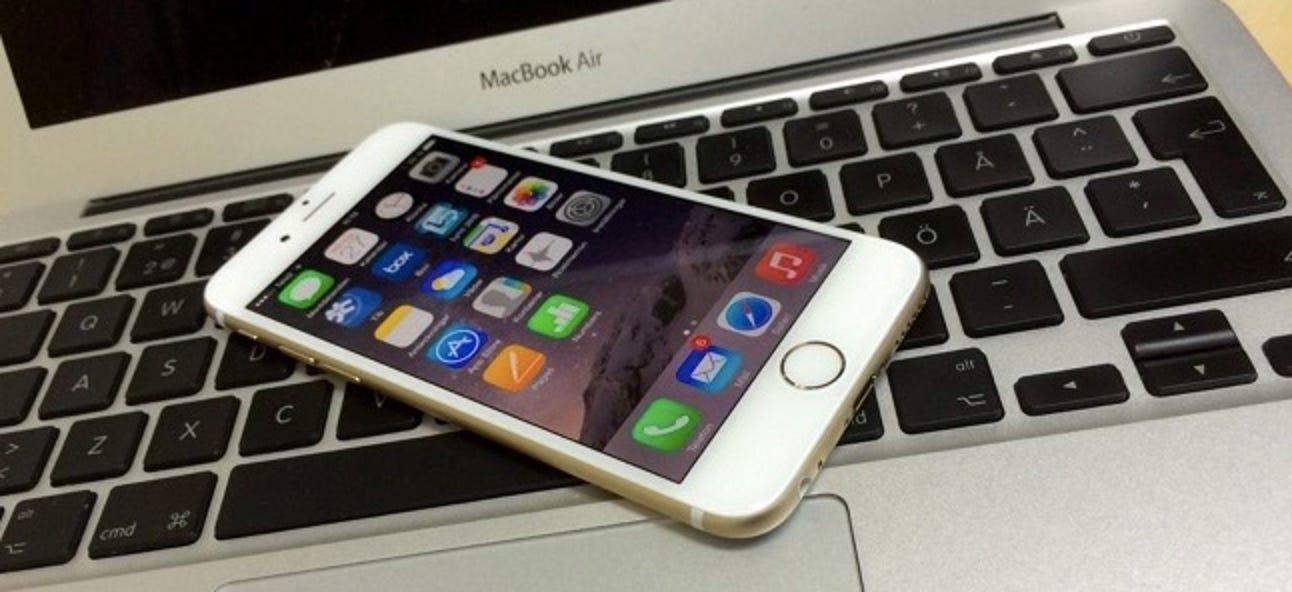 So verwenden Sie den persönlichen Hotspot Ihres iPhones, um einen PC oder Mac anzuschließen