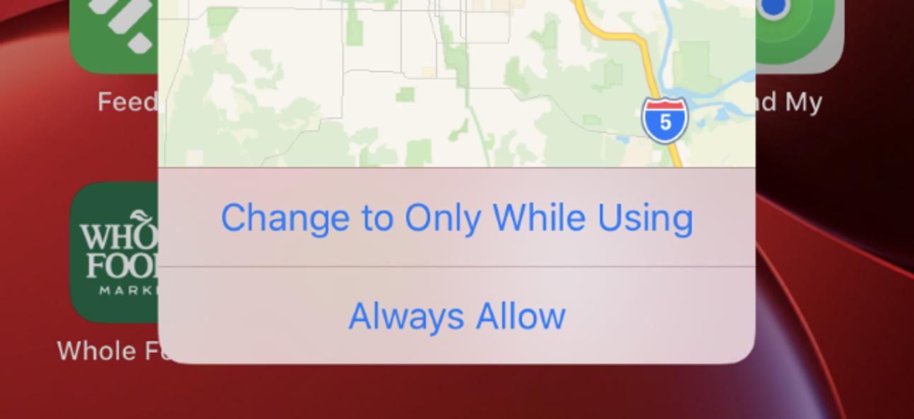 Warum Ihr iPhone immer wieder nach der Verwendung des Hintergrundstandorts fragt