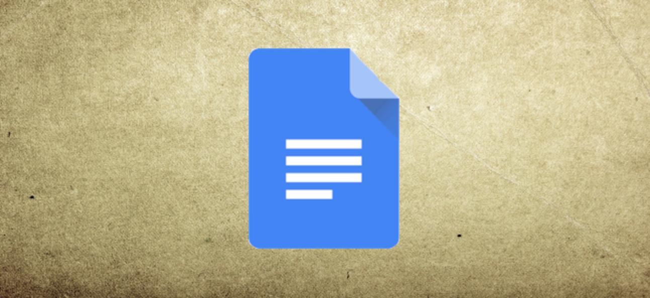 So ändern Sie die Seitenfarbe in Google Text & Tabellen