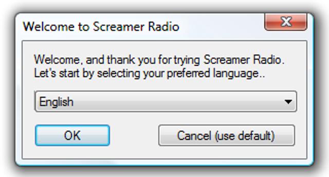 Spielen und Aufnehmen von Internetradio mit Screamer Radio