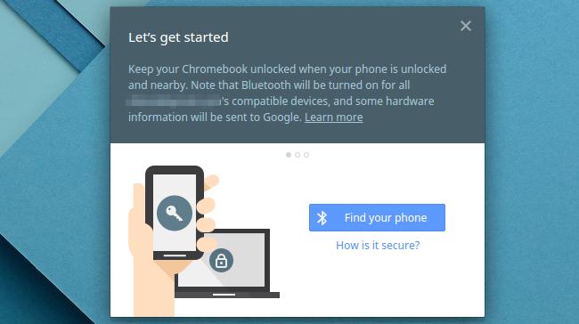 Beginnen wir mit Smart Lock auf einem Chromebook