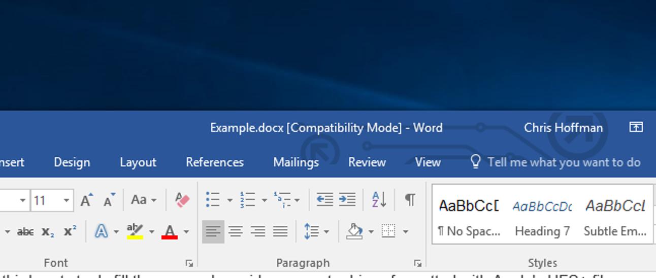 Was ist der Kompatibilitätsmodus in Microsoft Office?