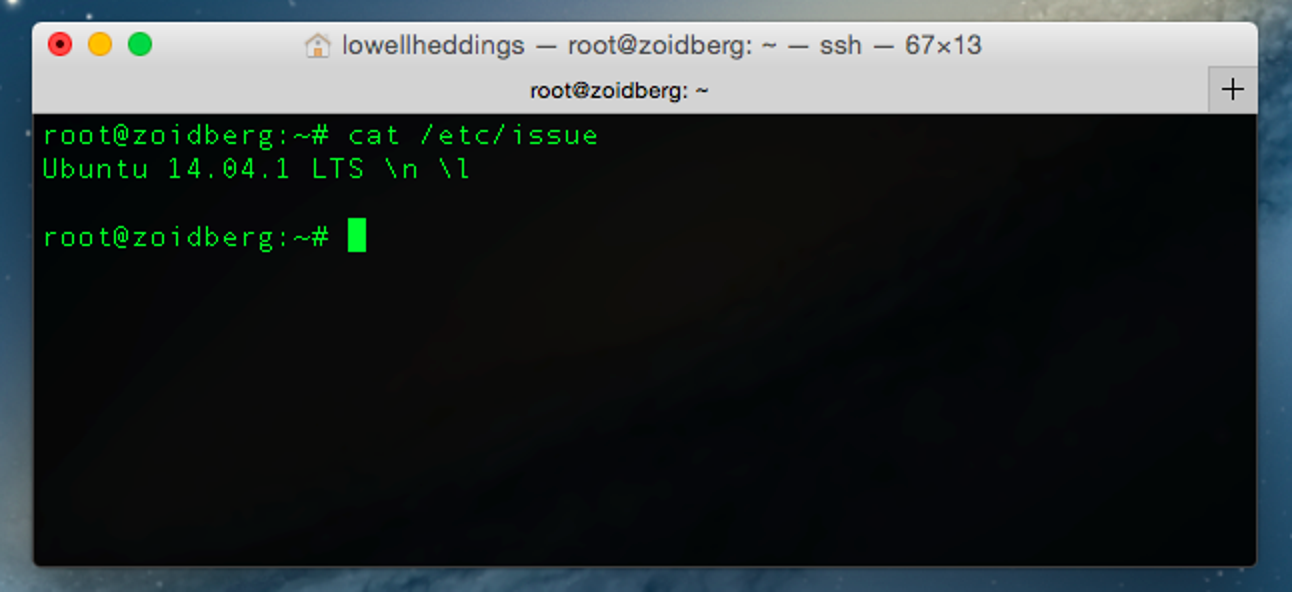 So erkennen Sie, welche Distribution und Version von Linux Sie ausführen