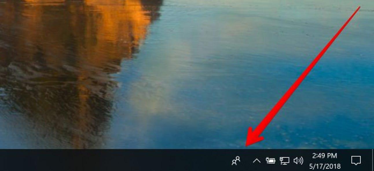 So deaktivieren Sie das Symbol für sinnlose Personen in der Taskleiste von Windows 10
