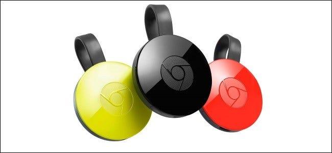 Das Google Chromecast-Symbol.