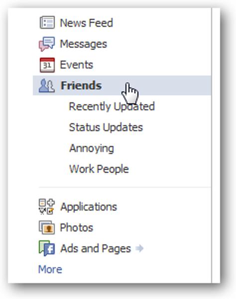Wie verstecke ich mich vor bestimmten Personen im Facebook-Chat?