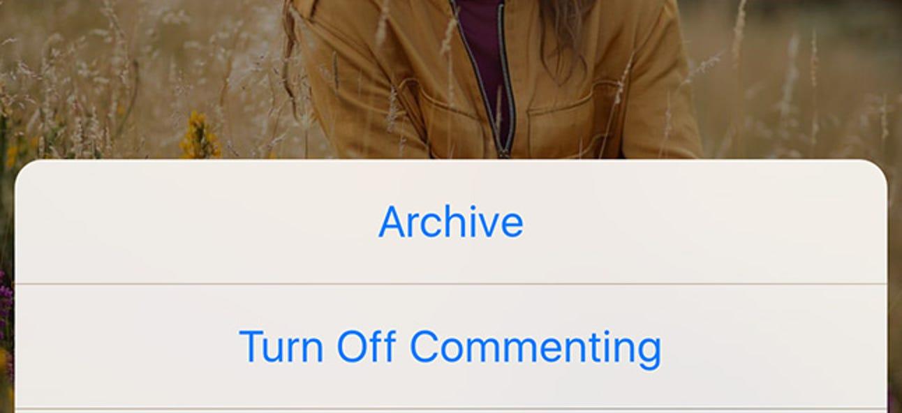 So deaktivieren Sie Kommentare zu Ihren Instagram-Posts