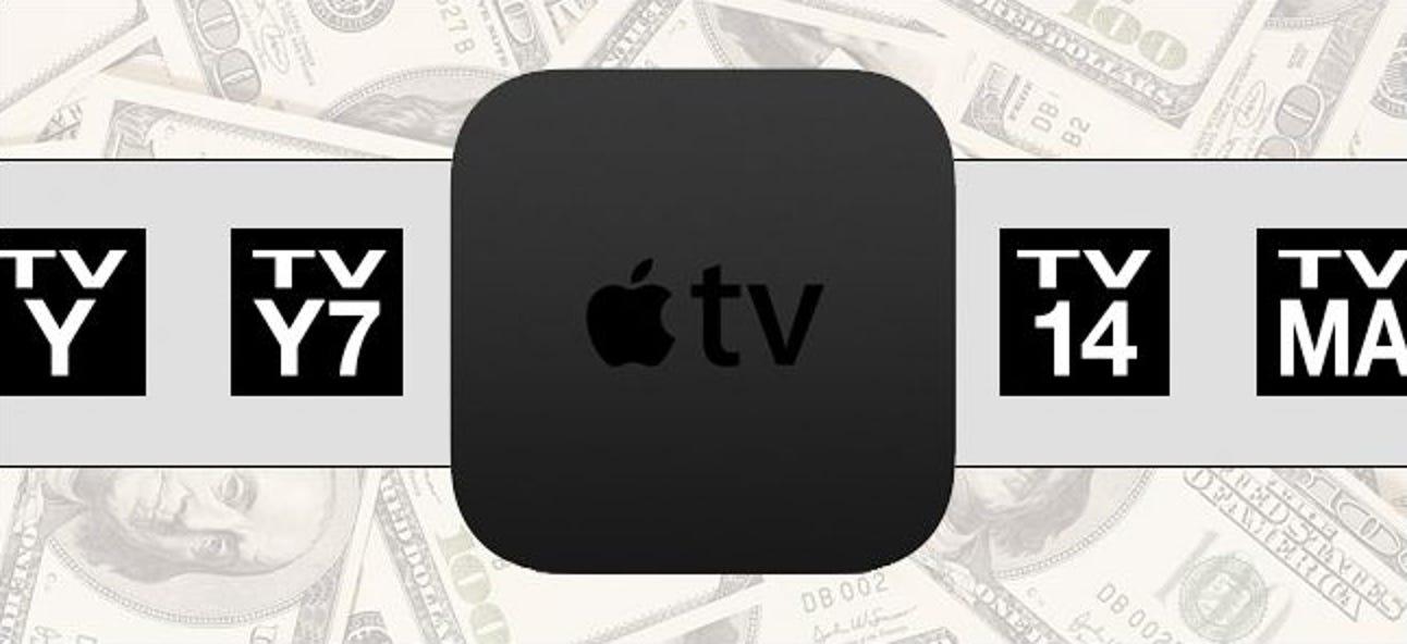 So richten Sie Inhalte und Kaufbeschränkungen auf Ihrem Apple TV ein