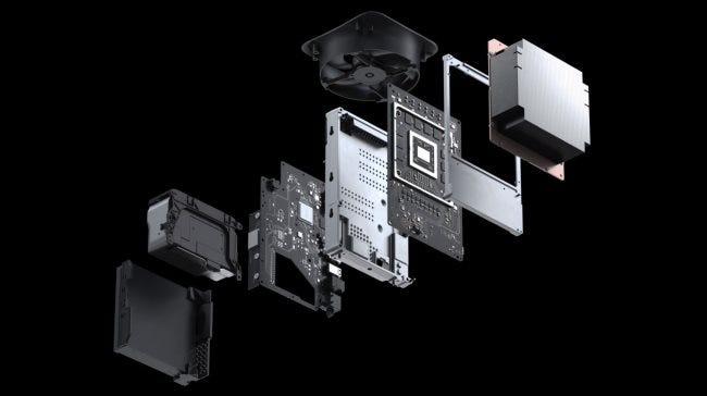 Die Interna der Xbox Series X.