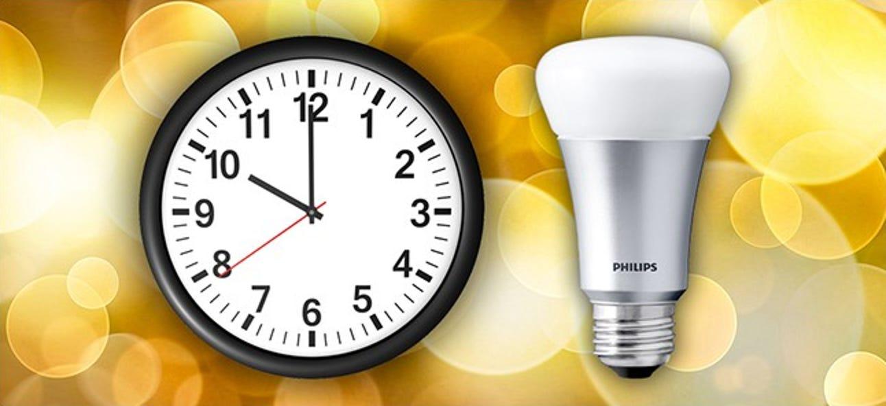 So schalten Sie Ihre Philips Hue-Lichter nach einem Zeitplan ein oder aus