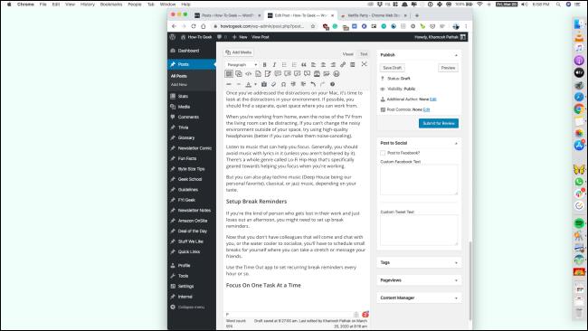 Ein Slack-Fenster mit dem Hintergrund der Hintergrund-App wird geöffnet.