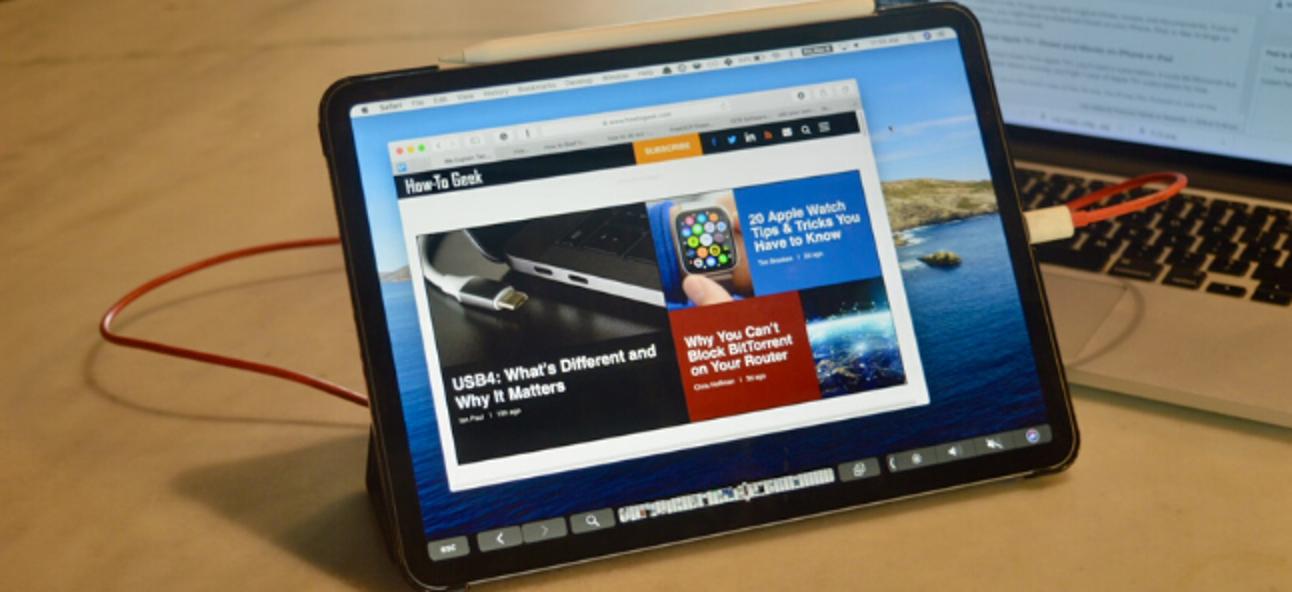 So verwenden Sie Ihr iPad als sekundäres Mac-Display ohne Beiwagen