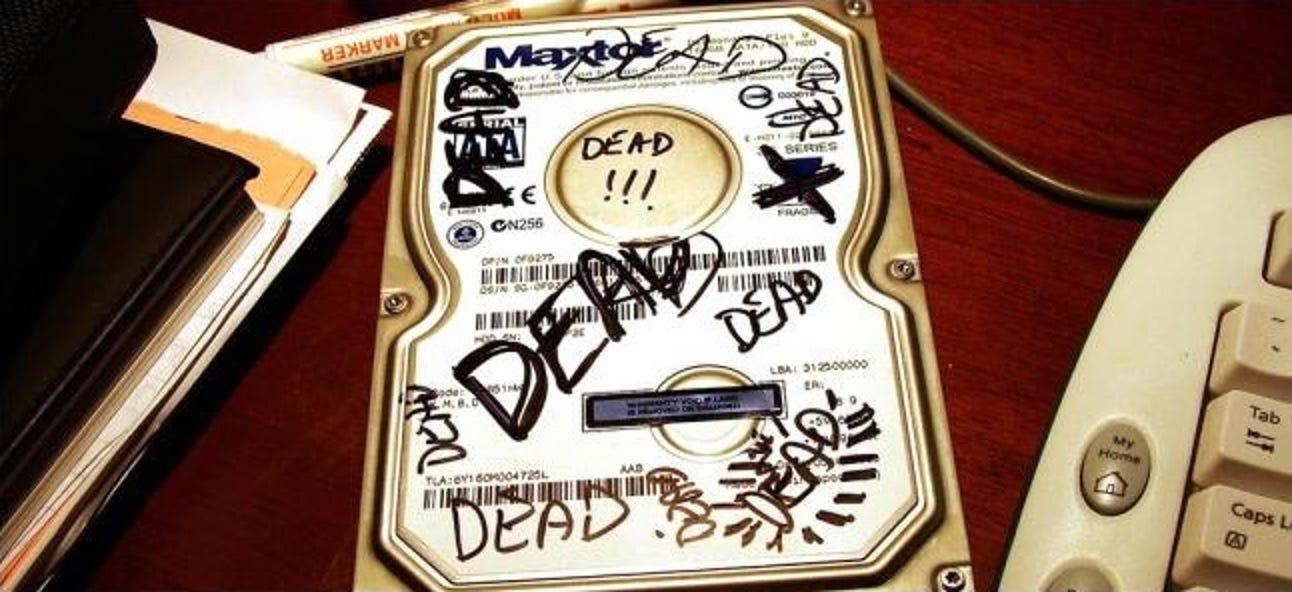 So sehen Sie, ob Ihre Festplatte mit SMART im Sterben liegt