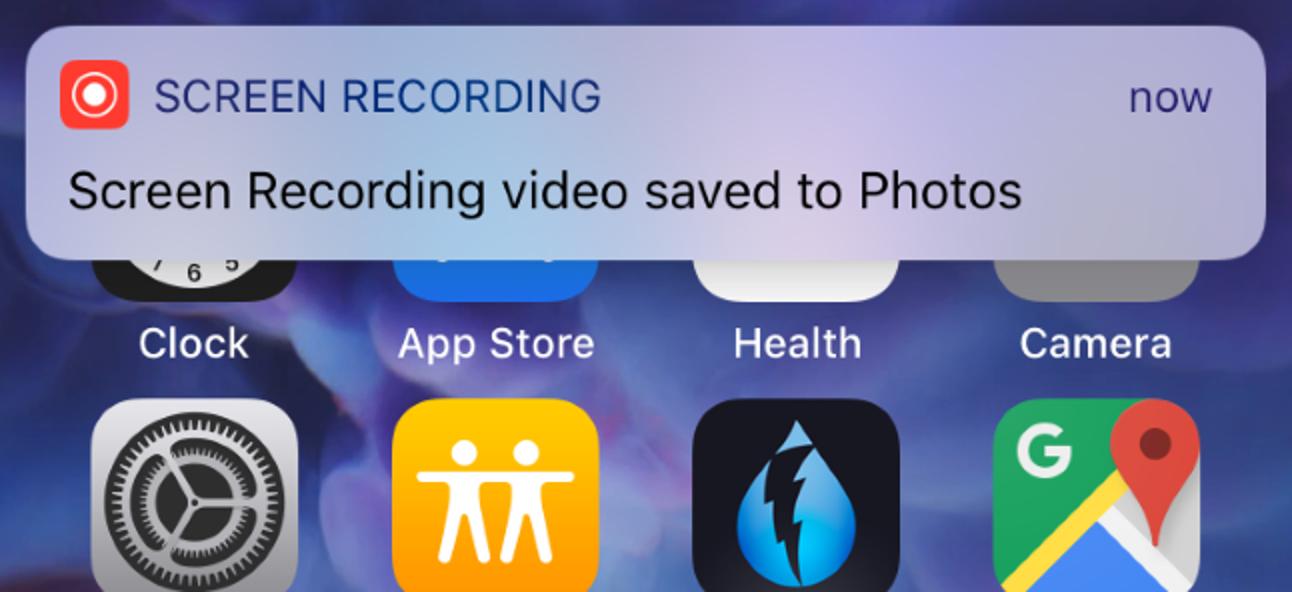 So nehmen Sie ein Video vom Bildschirm Ihres iPhones oder iPads auf