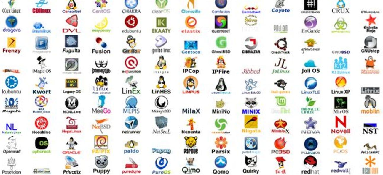 Wie genau basiert ein Linux-Betriebssystem auf einem anderen Linux-Betriebssystem?