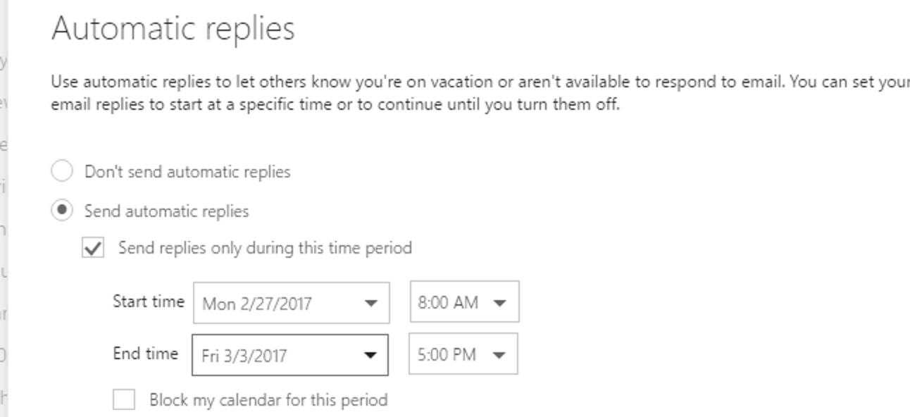 So richten Sie eine Abwesenheitsantwort auf Outlook.com ein