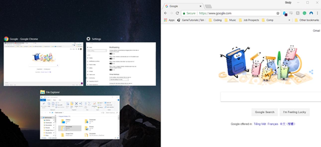 So deaktivieren Sie den Snap Assist in Windows 10