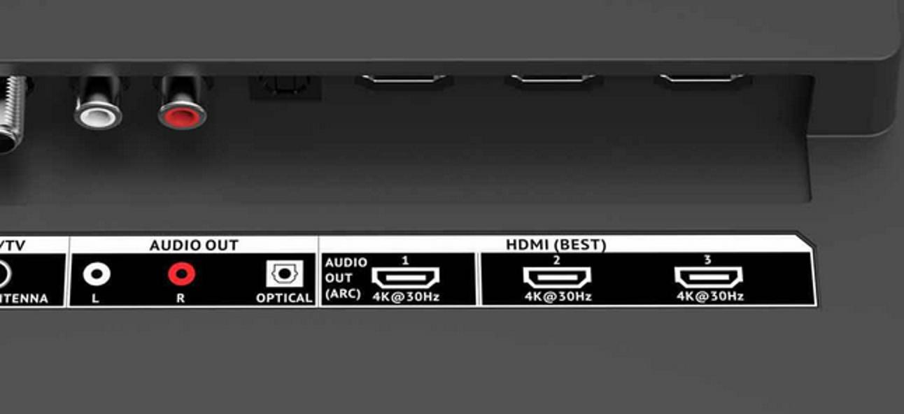 Was die Beschriftungen an den HDMI-Anschlüssen Ihres Fernsehgeräts bedeuten (und wann es darauf ankommt)