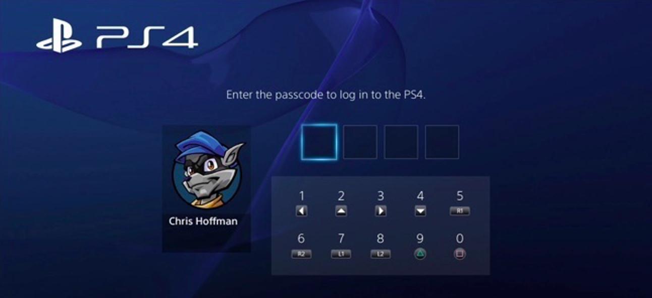 So beschränken Sie den Zugriff auf Ihre PlayStation 4 mit einem Passcode