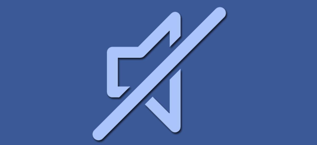 So verhindern Sie, dass Facebook-Videos Audio automatisch blenden