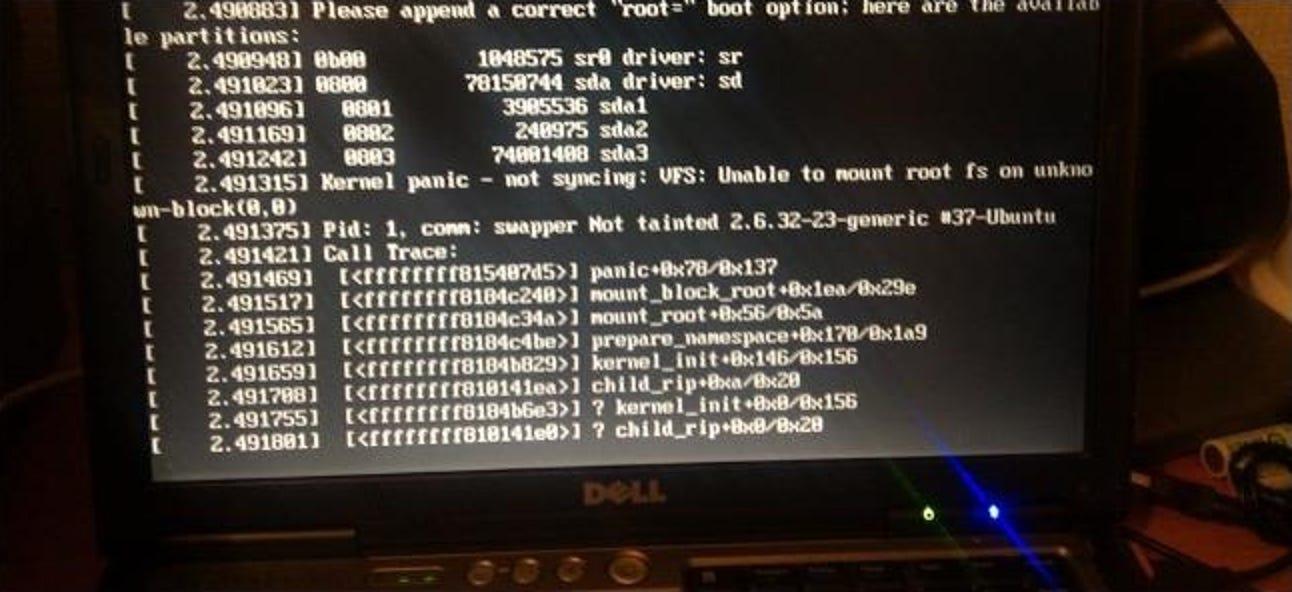 So reparieren Sie ein Ubuntu-System, wenn es nicht startet