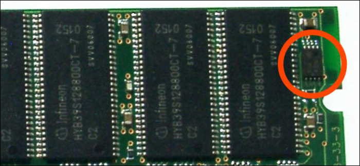 Serial Presence Detect Chip