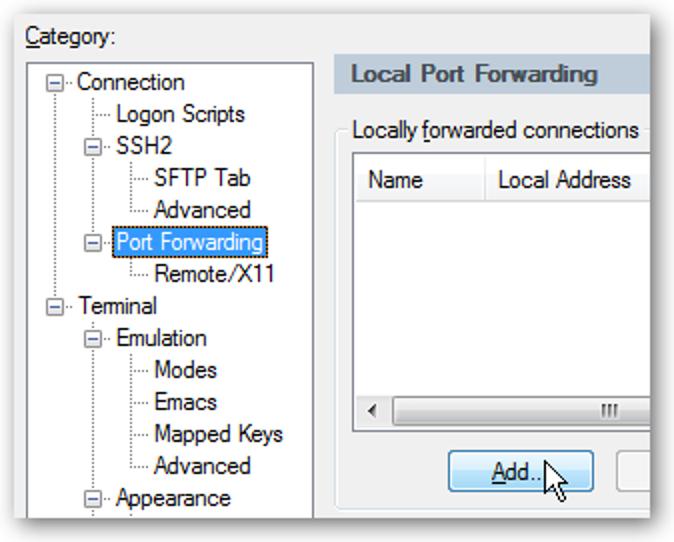 Stellen Sie über SSH eine Verbindung zur VMware Server Console her