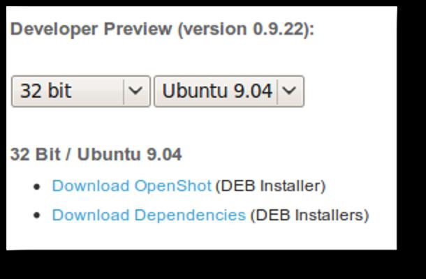 OpenShot ist eine Videobearbeitungssoftware für Ubuntu