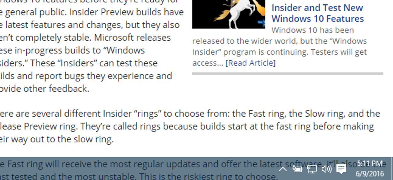 So machen Sie die Windows 10-Taskleiste transparenter