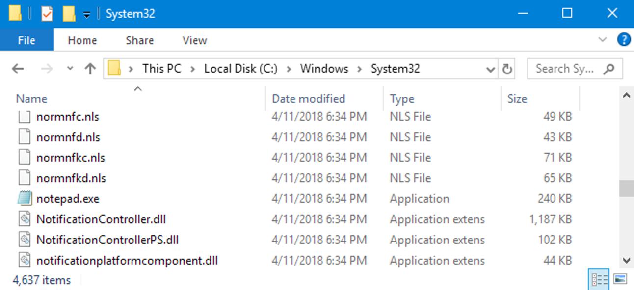 Was ist eine Windows-Systemdatei?
