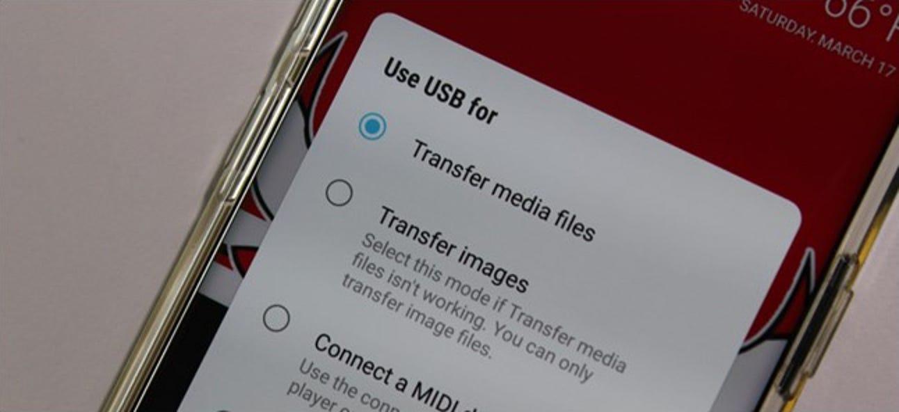 So übertragen Sie Fotos von Android auf Ihren Windows-PC