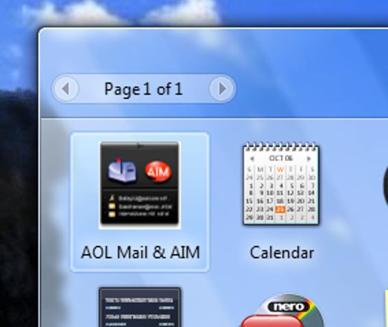 Fügen Sie AOL Instant Messenger (AIM) in Ihre Windows-Seitenleiste ein
