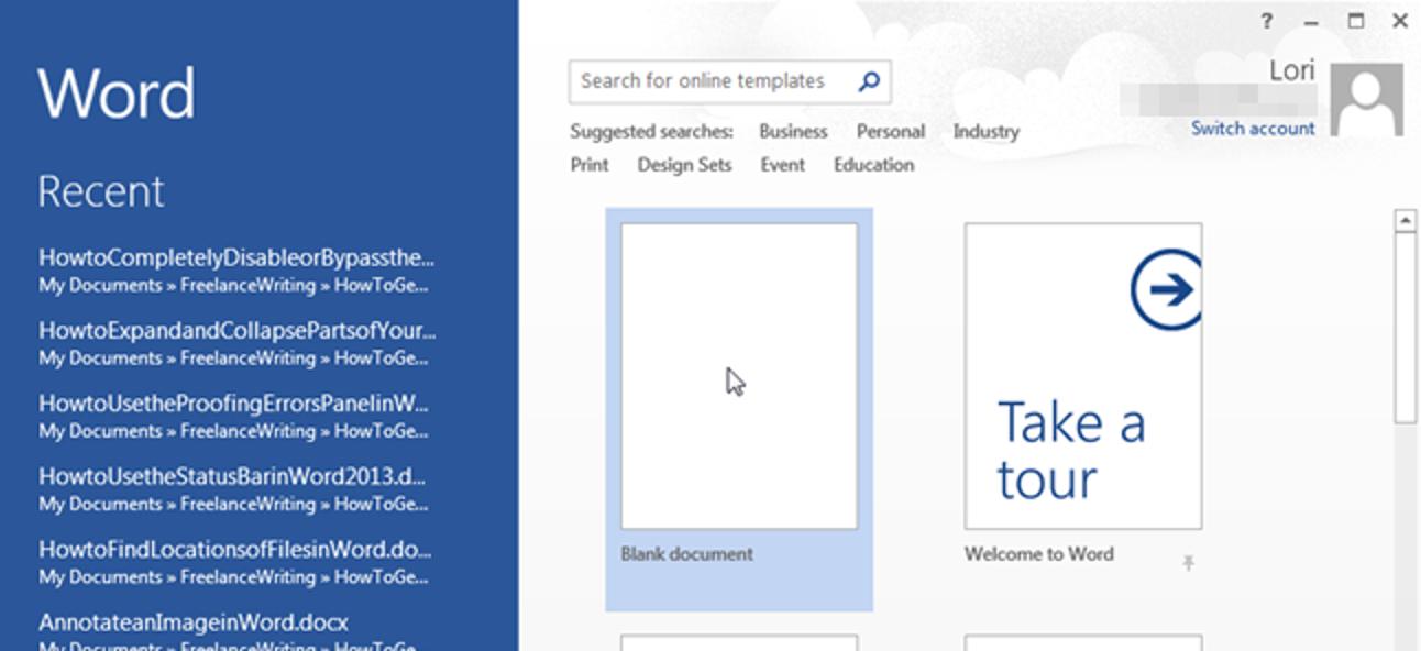So umgehen Sie den Startbildschirm in Office-Anwendungen oder deaktivieren ihn vollständig